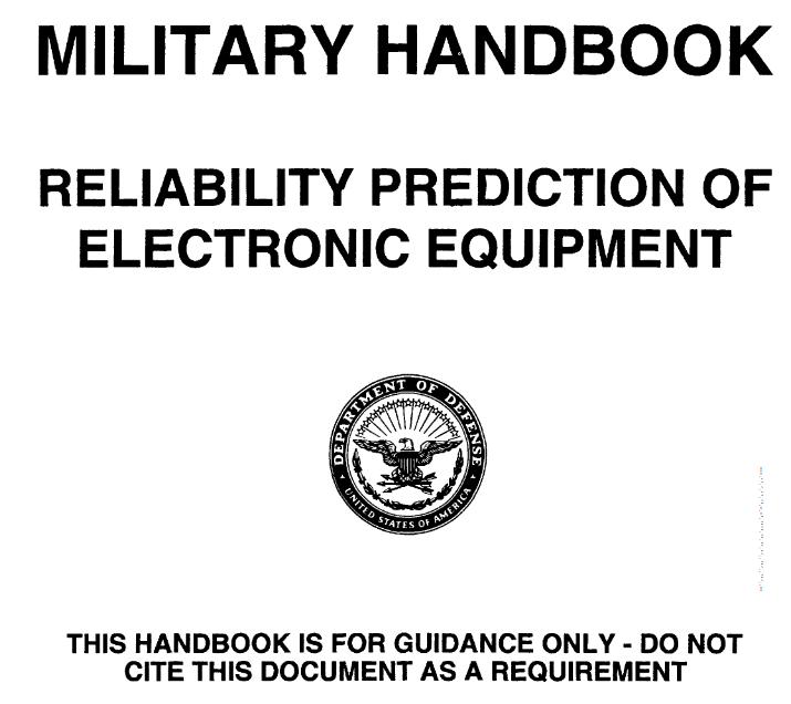 Norma MIL 217 – określenie niezawodności komponentów elektronicznych