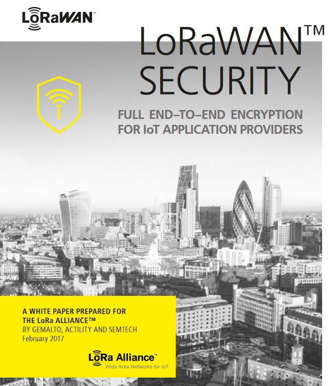 Bezpieczeństwo LoRaWAN – whitepaper
